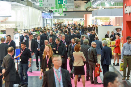 Packed halls at ISM 2016