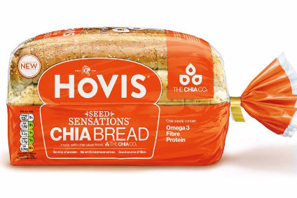 Hovis launches on-trend chia bread