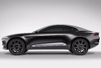 Aston Martins Welsh plant will build a new SUV (DBX concept pictured)