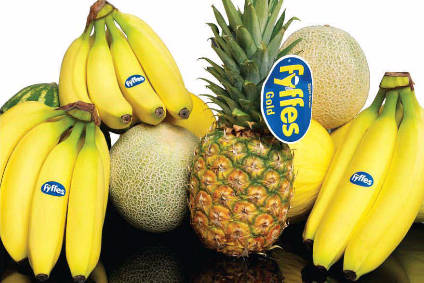 Japanese firm plucks fruit giant Fyffes in £638m deal