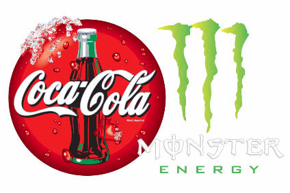 How has The Coca-Cola Co helped Monster Beverage Corp's global presence? - Focus