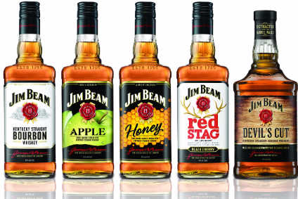 The new Jim Beam bottles will roll out to around 100 markets