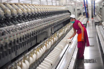 India cotton factory producing Aldi Fairtrade T-shirts