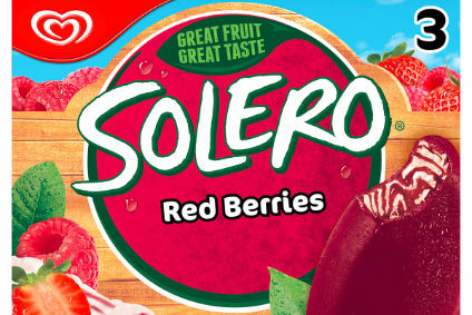 Unilever has launched Solero Red Berries in the UK