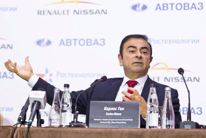 Alliance chief Carlos Ghosn will be hoping for revived fortunes at heavily loss-making AvtoVAZ