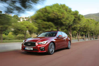 New engines now on sale but styling has not changed since the Q50 entered production at Tochigi in 2013