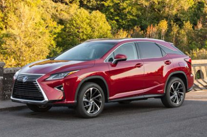 A personal favourite - the RX450h. We put Lexus future product plans under scrutiny this week