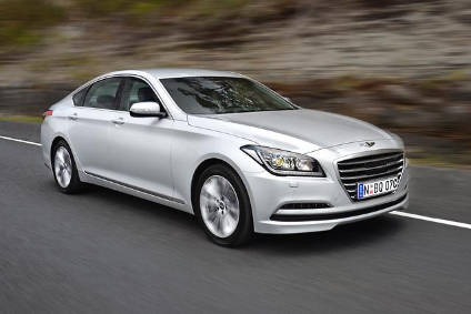 Hyundai Has Just Added A Limousine At The Top Of Its Genesis Line Up And Revealed Concept Preview Bmw 3 Series Sized Sedan