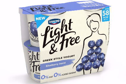 Danone has launched Light & Free in the UK