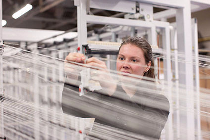 Official data shows recent growth in some textile production in the UK