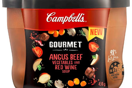 "Campbell launches ""gourmet"" soup in Australia"