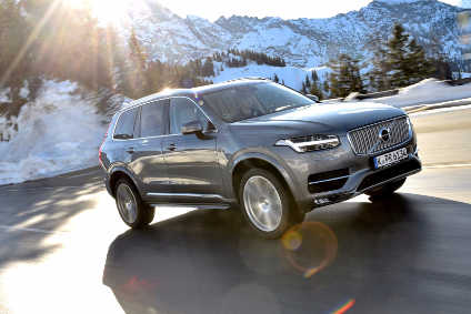 Volvo XC90 is a key driver behind Volvo Cars strong Q1 sales figures