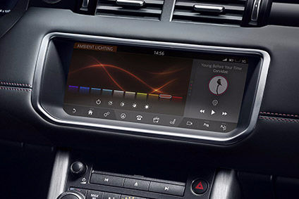 Latest Range Rover Ice Touchscreen Works Like A Smartphone With Swipe And Pinch Functions