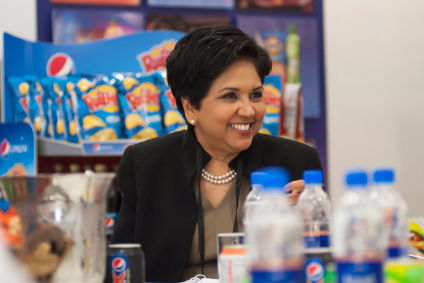 "Nooyi said the ""new-age consumer loves discovery brands"""