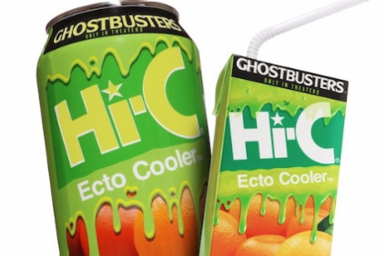 Hi-C Ecto Cooler was first launched in 1987 for the original Ghostbusters movie