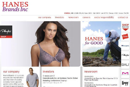 Hanes has reaffirmed its full-year guidance, expecting 8% growth year-on-year with net sales of $6.15bn to $6.25bn.