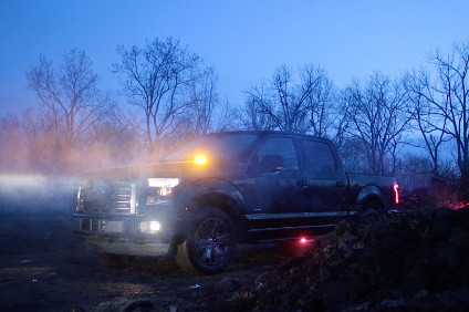 Ford has extended factory fit F-series strobe lights from Super Duty to F-150
