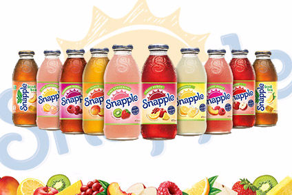 AG Barr launches UK Snapple campaign