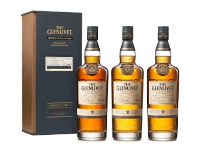 Pernod Ricards The Glenlivet Single Cask Edition Pullman Train Collection