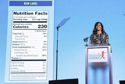 US confirms delay to Nutrition Facts label changes