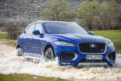Jaguar's new F-Pace will take on the likes of Porsche's Macan