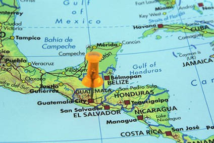 Nicaragua was the only country in the top ten to record growth year-on-year