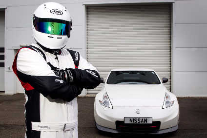 Thats not actually The Stig, but is a good effort from Nissan to shed some light on an area of activity that gets little publicity
