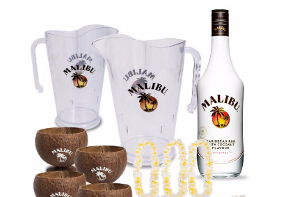 Pernod Ricard gives Malibu global summer push