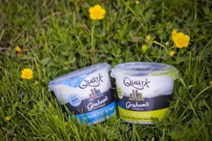 Grahams The Family Dairy launching quark in UK