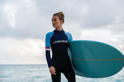 The Lands End Sport collection features functional pieces for activities ranging from surfing to athleisure