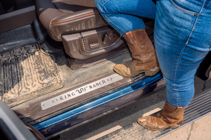 Ford Offers Vinyl Flooring In Luxury