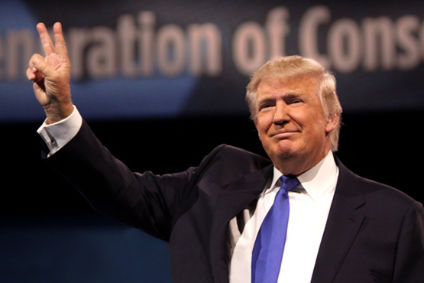 Donald Trump is the presumed Republican Party nominee for US president
