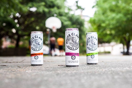 Mark Anthonys White Claw is the current leader in the US hard seltzer category