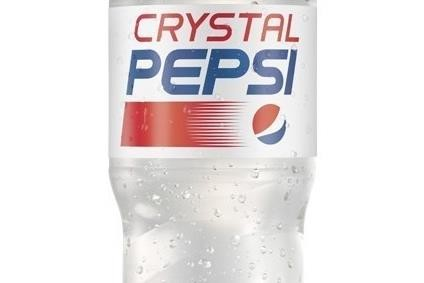 PepsiCos clear Crystal Pepsi was first available in the 1990s