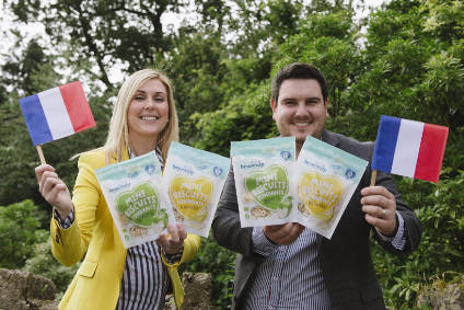 Shauna McCamey-Blair and James Blair celebrated Heavenly Tasty Organics entry into the French market last year