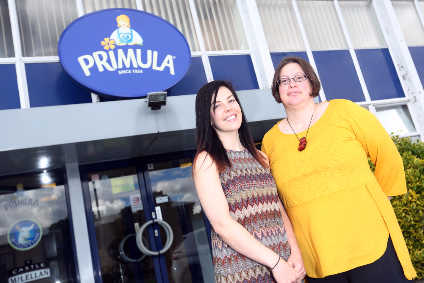 Peggy van Rooyen (right) and Jamilee Coull of Primulas new innovation department