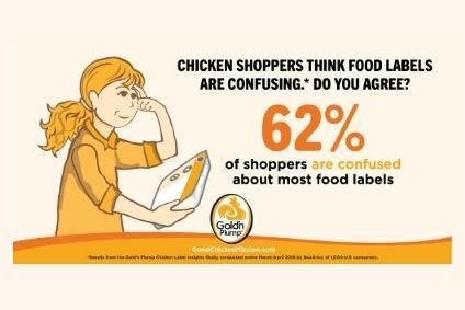 Goldn Plump responding to shopper confusion over food labels
