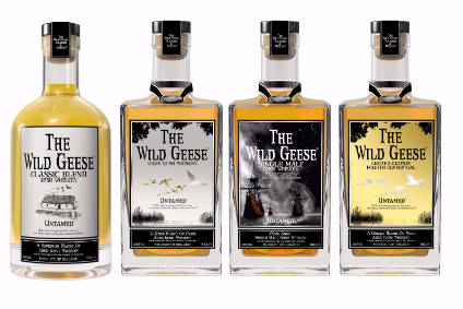 Wild Geese uses third-party supply to make its Irish whiskey brands