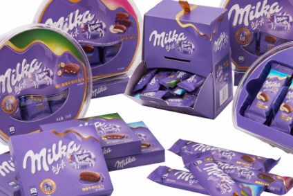 Mondelez eyes China with Milka launch