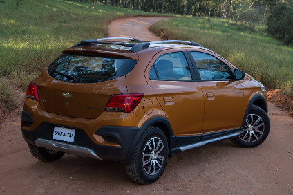New Onix Active takes Chevrolet Brazil into the compact hatchback adventure segment