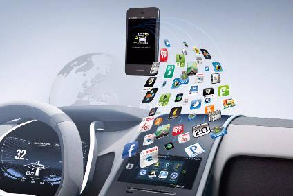Resultado de imagen de smartphone car connectivity