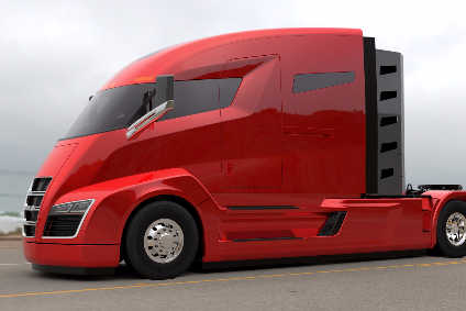 What Will A Tesla Electric Truck Look Like Automotive Industry Ysis Just Auto