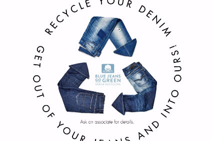 Guess launches denim recycling programme