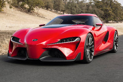 FT-1 concept, the inspiration for 2018s Supra revival
