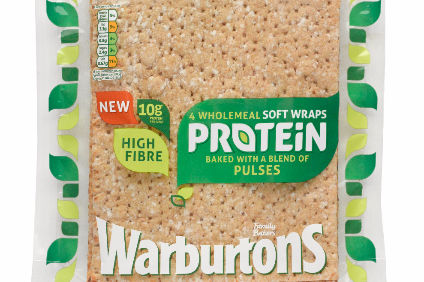 Warburtons new Protein range contains blend of pulses and grains