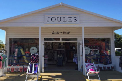 First-half sales edged up 1.3% at Joules.