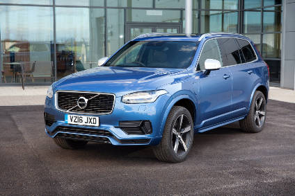 Xc90 T8 The Sixty Four Thousand Pound Electric Volvo Automotive Industry Ysis Just Auto
