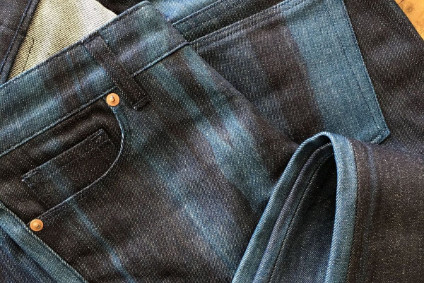 Pinto Denim is being brought back with its characteristic bleached streaks