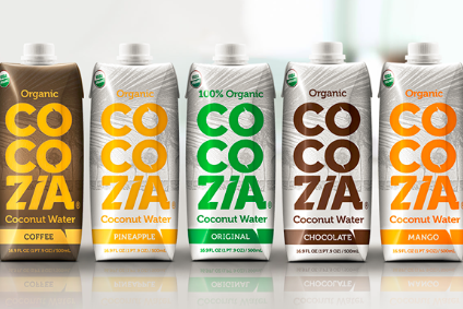 Cocozia is available in a range of flavours