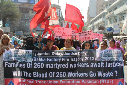 260 workers were killed in the blaze in 2012